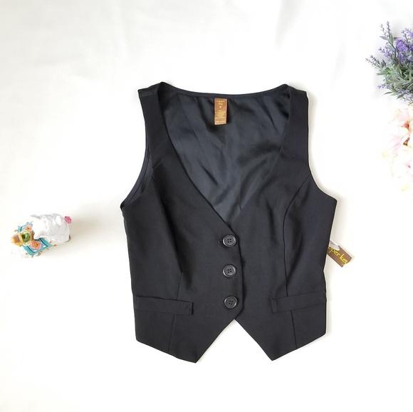 Copper Key Jackets & Blazers - 🦙 Copper Key black vest